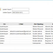 Outlook-Abgleich - Software Versicherungsmakler - Outlook Abgleich