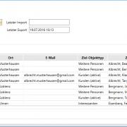 Outlook-Abgleich - Software Versicherungsmakler - Outlook Abgleich