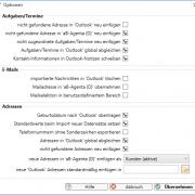 Outlook-Abgleich - Software für Versicherungsvermittler