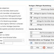 aB-Agenta Provisionsabrechnung Optionen