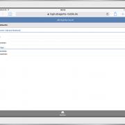 aB-Agenta touch - Maklersoftware Suchfunktion