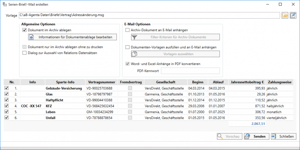 Maklersoftware aB-Agenta - Software für Versicherungsmakler