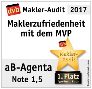 MVP 1 Platz - aB-Agenta Maklersoftware