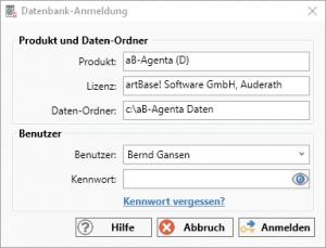 Zugriffsrechte Datenbank-Anmeldung