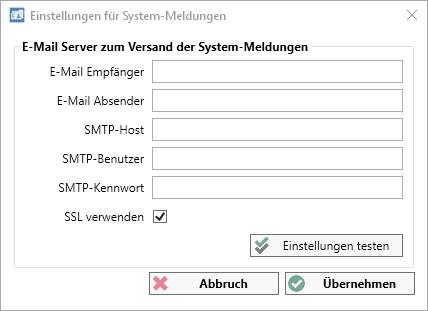 Aufgabenplanung System Einstellungen