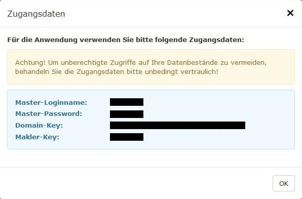 Zugangsdaten NAFI-Online