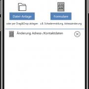 aB-Agenta Kundenportal - Nachrichten-Anlage