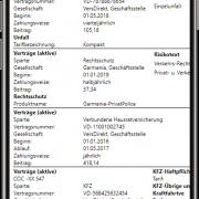 aB-Agenta Kundenportal - Vertragsspiegel