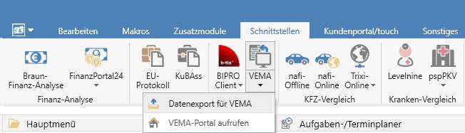 Vema Export